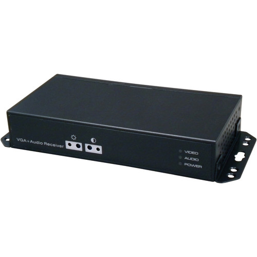 UTP Balun VGAE1R Long Range VGA & Audio Receiver (Black)