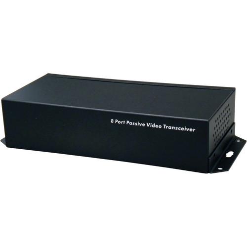 UTP Balun VPB800TRJ 8-Channel Passive Video Transceiver Balun (Black)