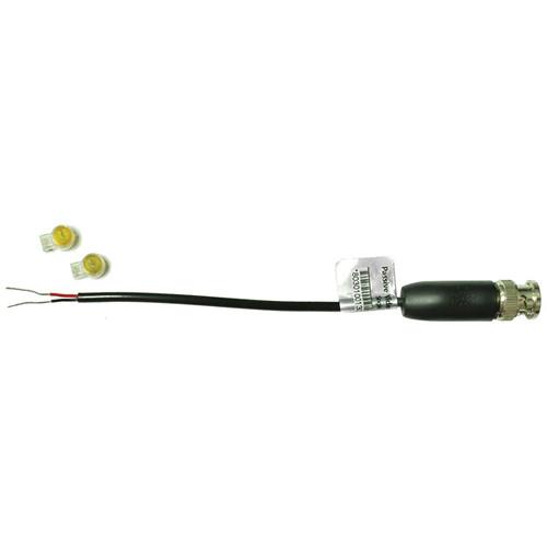 UTP Balun BNC Passive Video Transceiver with K1 IDC Communication Connectors (Black)