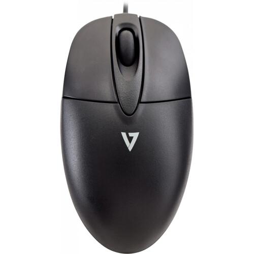V7 USB Scroll Wheel  Optical 3-Button Mouse -1000DPI