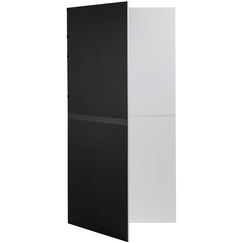 V-FLAT WORLD Foldable V-Flat (Black/White)