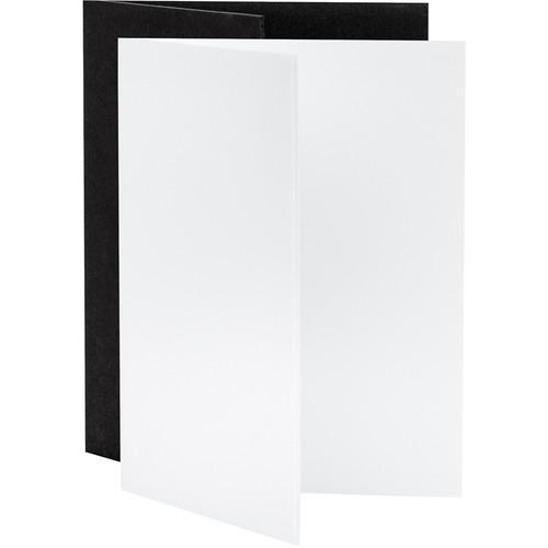 "V-FLAT WORLD Tabletop V-Flat Small (18 x 12"", 1 White, 1 Black)"