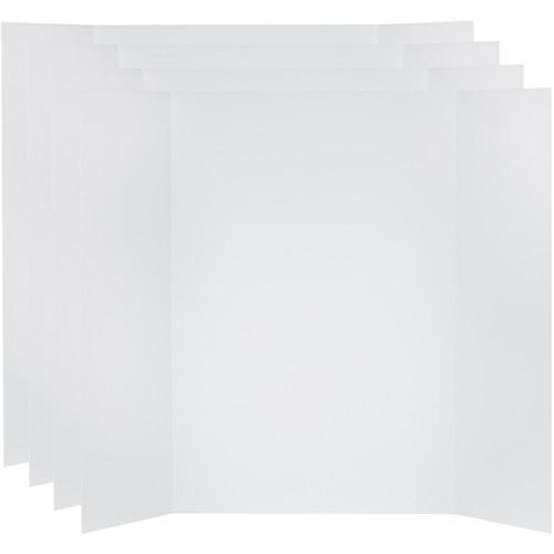 V-FLAT WORLD Tabletop V-Flat Large (4 x 3', 4-Pack, White)