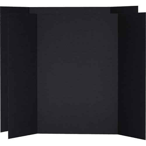 V-FLAT WORLD Tabletop V-Flat Large (4 x 3', 2-Pack, Black)