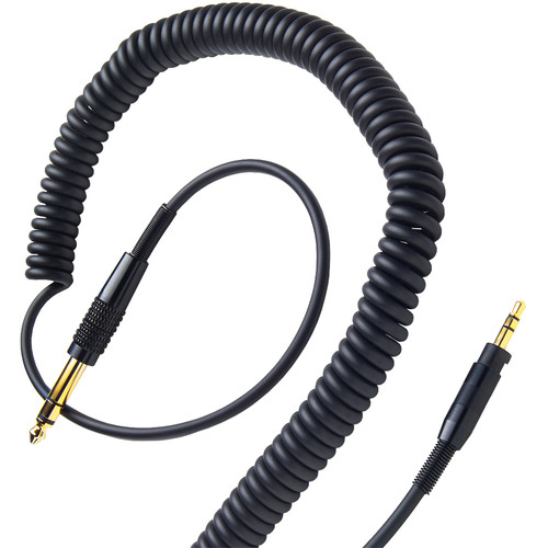 V-MODA Coilpro Extended Cable 4-12' (Black)