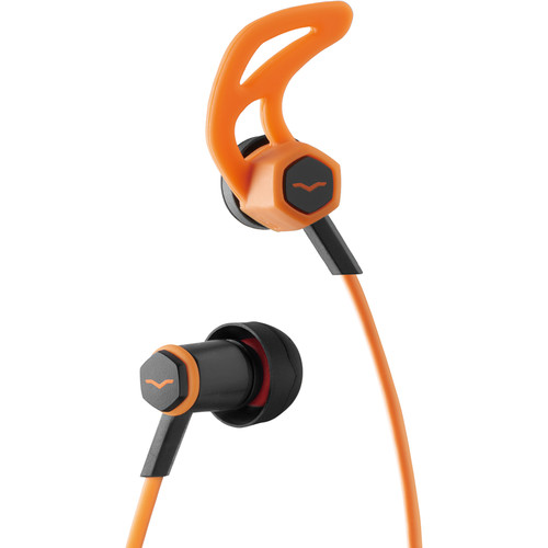 V-MODA Forza In-Ear Headphones with In-Line Mic and Remote Control (Apple iOS, Orange)