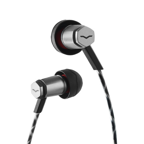V-MODA Forza Metallo In-Ear Hybrid Sport Headphones With Remote And Mic - Android  (Gunmetal Black)