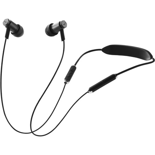 V-MODA Forza Metalo Bluetooth Wireless In-Ear Headphones (Gunmetal Black)