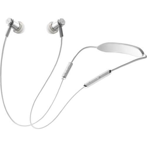 V-MODA Forza Metallo Bluetooth Wireless In-Ear Headphones (White Silver)