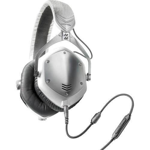 V-MODA Crossfade M-100 Headphones (White Silver)