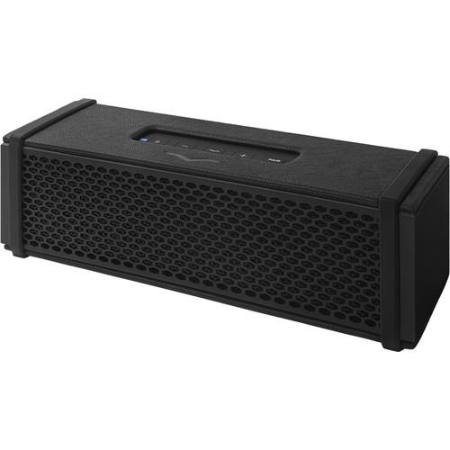 V-MODA REMIX Portable Bluetooth Speaker (Black Vegan Leather)