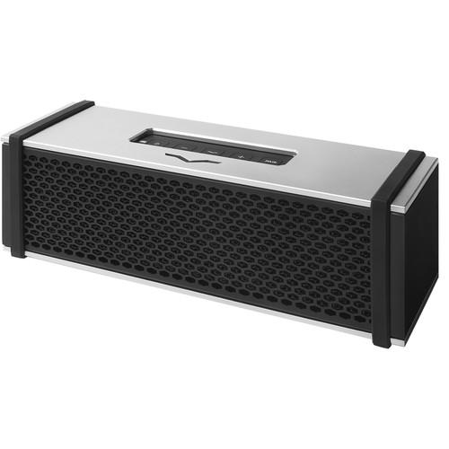 V-MODA REMIX Portable Bluetooth Speaker (Silver Aluminum)