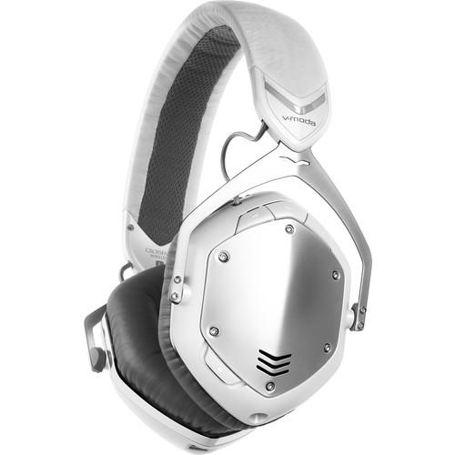 V-MODA Crossfade Wireless Headphones (White/Silver)