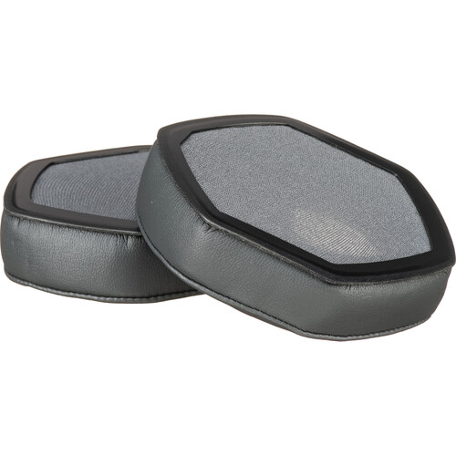 V-MODA XL Memory Cushions for Crossfade Wireless, M-100, LP, and LP2 Headphones (Pair, Gray)