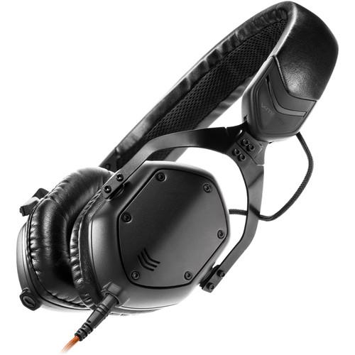 V-MODA XS On-Ear Headphones (Matte Black Metal)