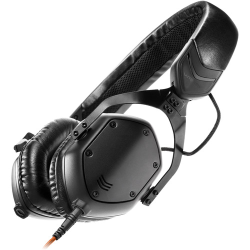 V-MODA XS On-Ear Headphones (Matte Black Metal)