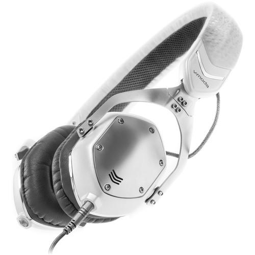V-MODA XS On-Ear Headphones (White Silver)