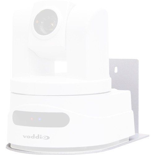 Vaddio Thin-Profile Wall Mount Bracket for HD-Series PTZ Cameras (White)