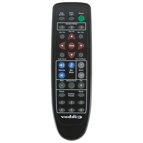 Vaddio IR Remote Commander with Audio Controls