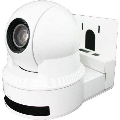 Vaddio WallVIEW Pan/Tilt/Zoom D80 Camera System (NTSC, White)
