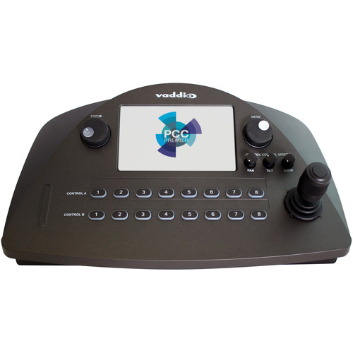 """Vaddio PCC Premier Precision Controller with 3-Axis Joystick and 7"""" Touchscreen for Up to 16 PTZ Cameras (North America)"""
