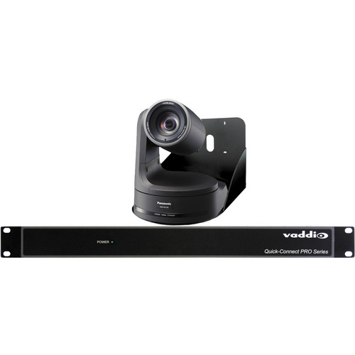 Vaddio WallVIEW PRO Pan/Tilt/Zoom HE120 Camera System (Black)