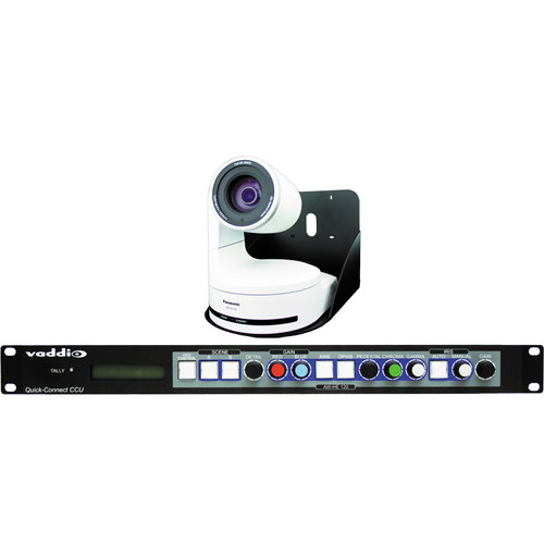 Vaddio WallVIEW CCU HD Pan/Tilt/Zoom HE120 Camera and Control System (White)