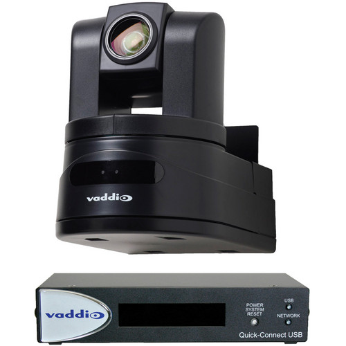Vaddio WallVIEW HD-19 USB High Definition PTZ Camera Control System (Black)