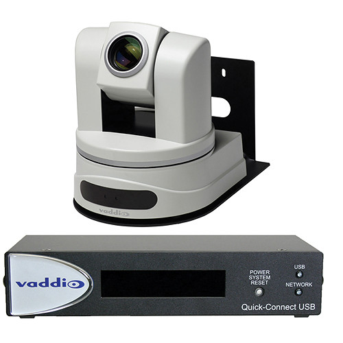 Vaddio WallVIEW HD-22 USB High Definition PTZ Camera & USB Camera Control System