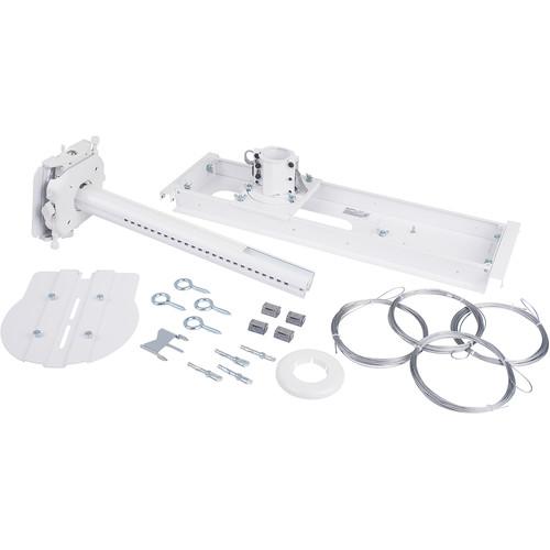 Vaddio QuickCAT Universal Suspended Ceiling Camera Mount (White)