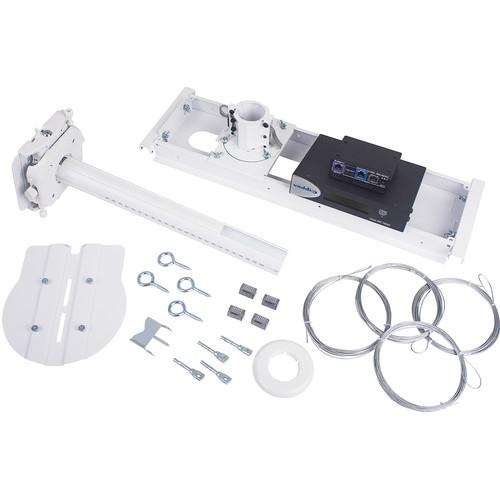 Vaddio QuickCAT Mount with OneLINK Bridge for Vaddio/Sony/Panasonic (White, North America)
