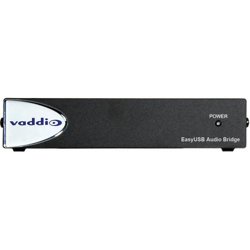 Vaddio EasyUSB AudioBRIDGE Analog Audio to USB Converter