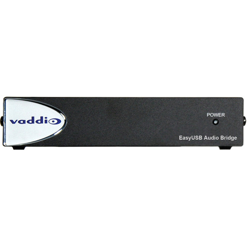 Vaddio EasyUSB AudioBRIDGE Analog Audio to USB Converter