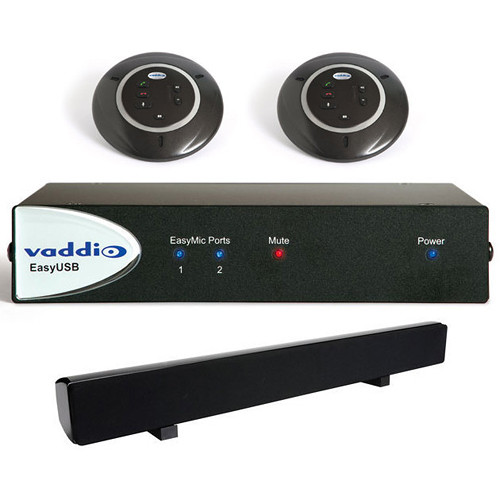 Vaddio EasyTalk USB Audio Bundle (System B)