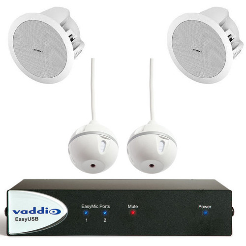 Vaddio EasyTalk USB Audio Bundle (System C)