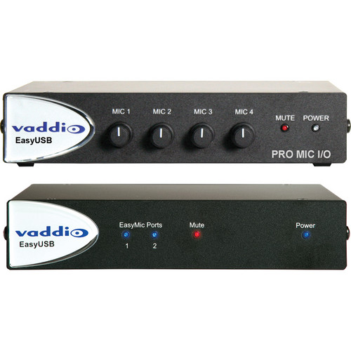 Vaddio EasyTALK USB Audio Bundle System F
