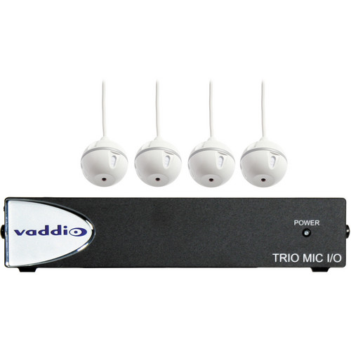 Vaddio EasyUSB MicPOD I/O Interface with Four Ceiling MicPODs