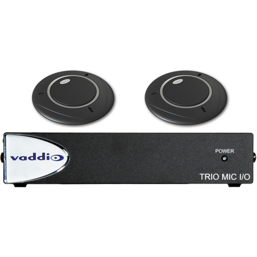 Vaddio TRIO Audio Bundle System C