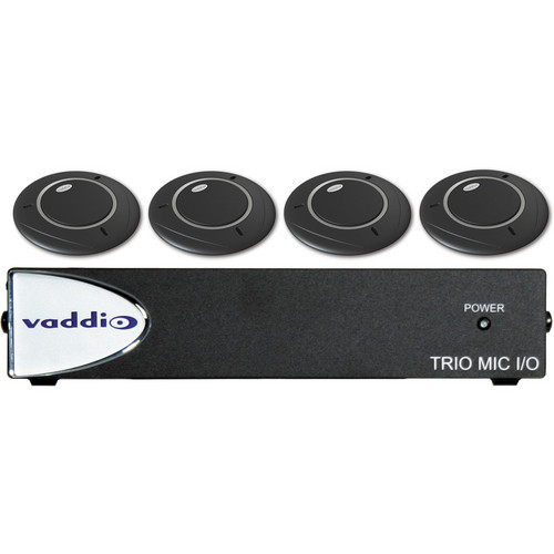 Vaddio TRIO Audio Bundle System D