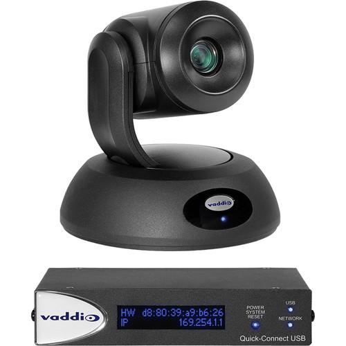 Vaddio RoboSHOT 12E QUSB Camera System (Black)