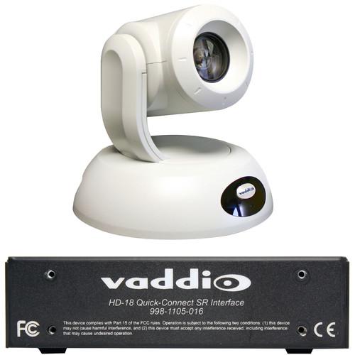 Vaddio RoboSHOT 30 QSR System (White)