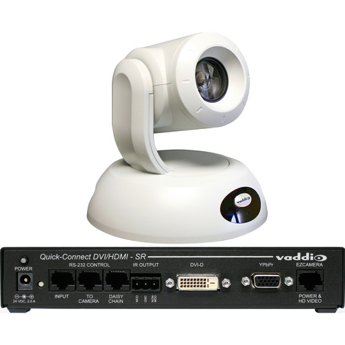 Vaddio RoboSHOT 30 QDVI PTZ Camera System (White)
