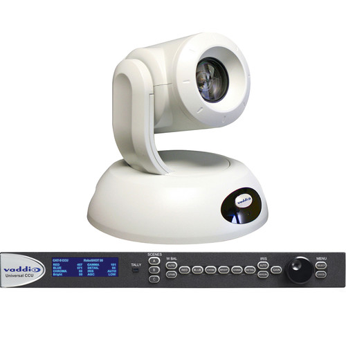 Vaddio RoboSHOT 30 QCCU PTZ System (White)