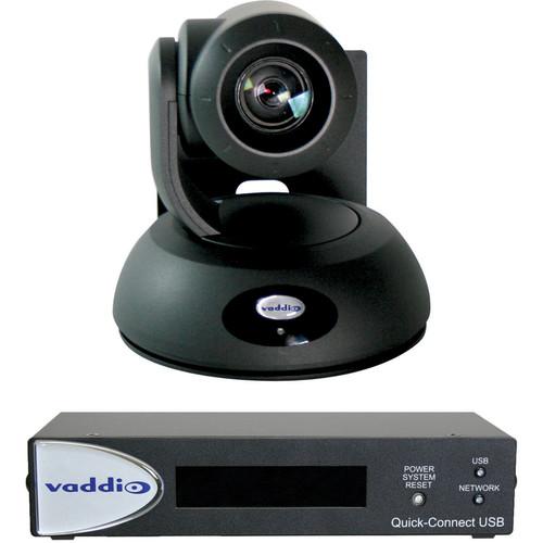Vaddio RoboSHOT 30 QUSB System (Black)