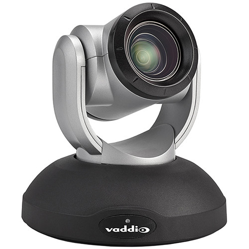 Vaddio RoboSHOT 20 UHD Ultra High Definition PTZ Camera (Silver/Black)