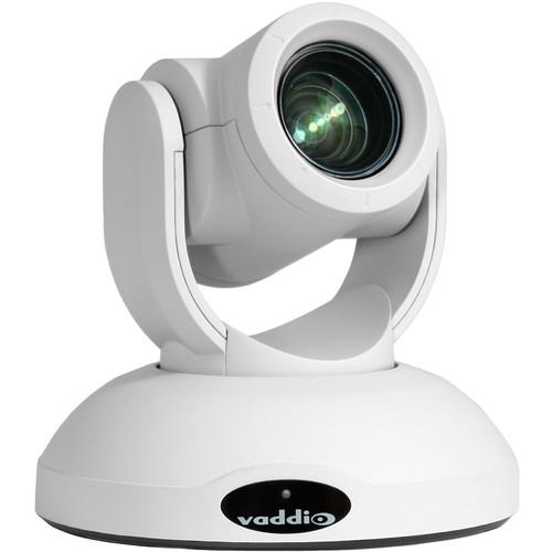 Vaddio Roboshot 20 UHD Ultra High Definition PTZ Camera -White Camera Version