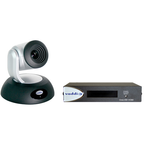 Vaddio RoboSHOT 12 OneLINK HDBT System (Silver and Black)