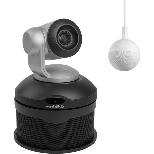 Vaddio ConferenceSHOT AV Bundle with CeilingMIC Microphone (Silver/Black)