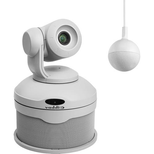 Vaddio ConferenceSHOT AV Bundle with CeilingMIC Microphone (White)