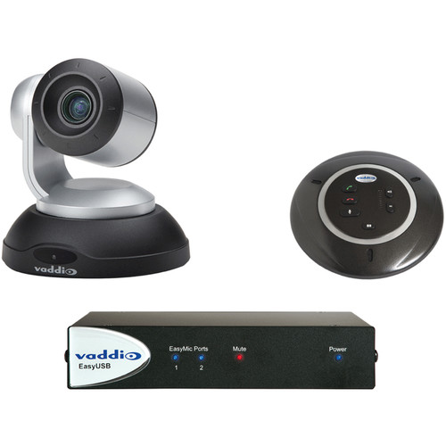 Vaddio ClearSHOT Conference Bundle (Silver/Black Camera)